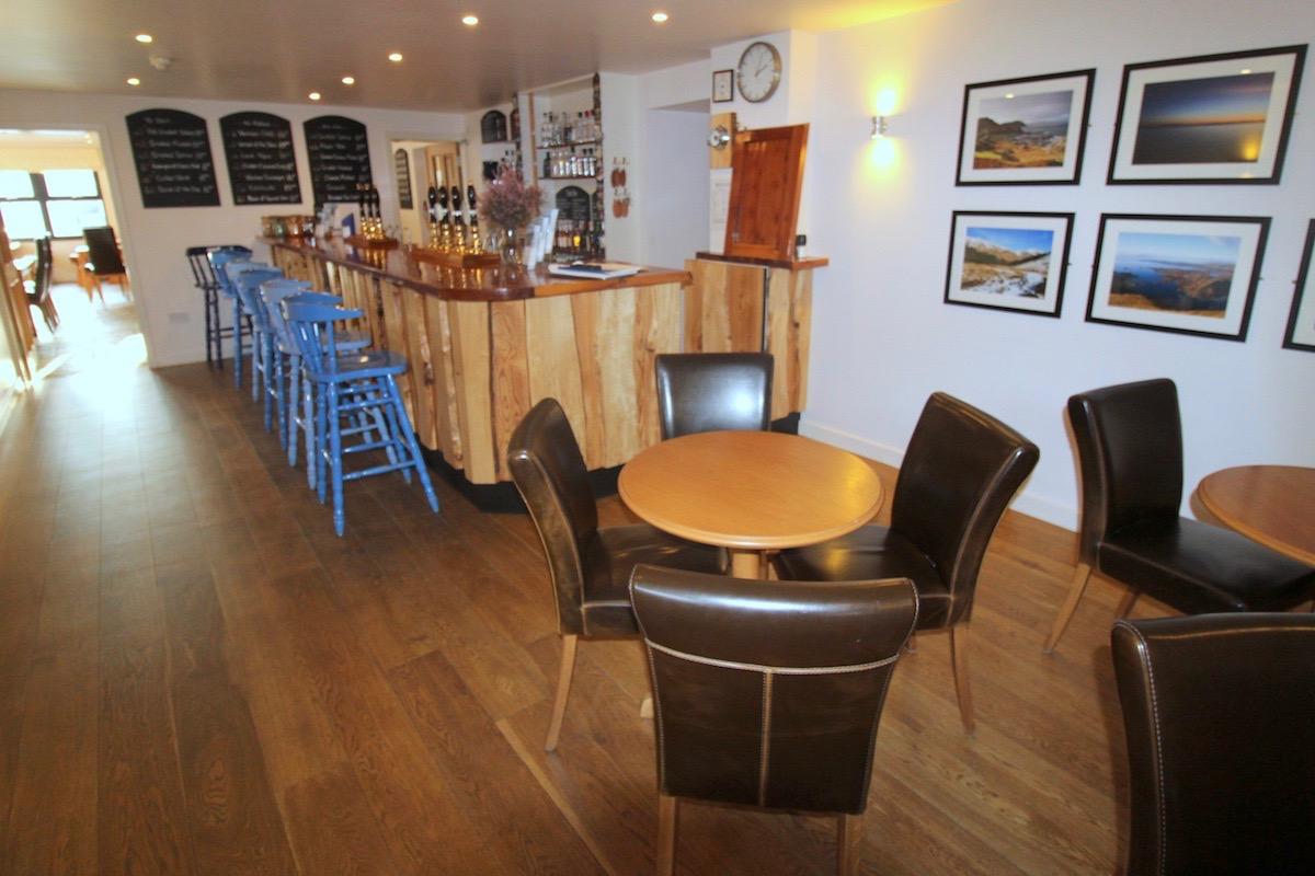 Glenuig Inn - west coast scotland bar