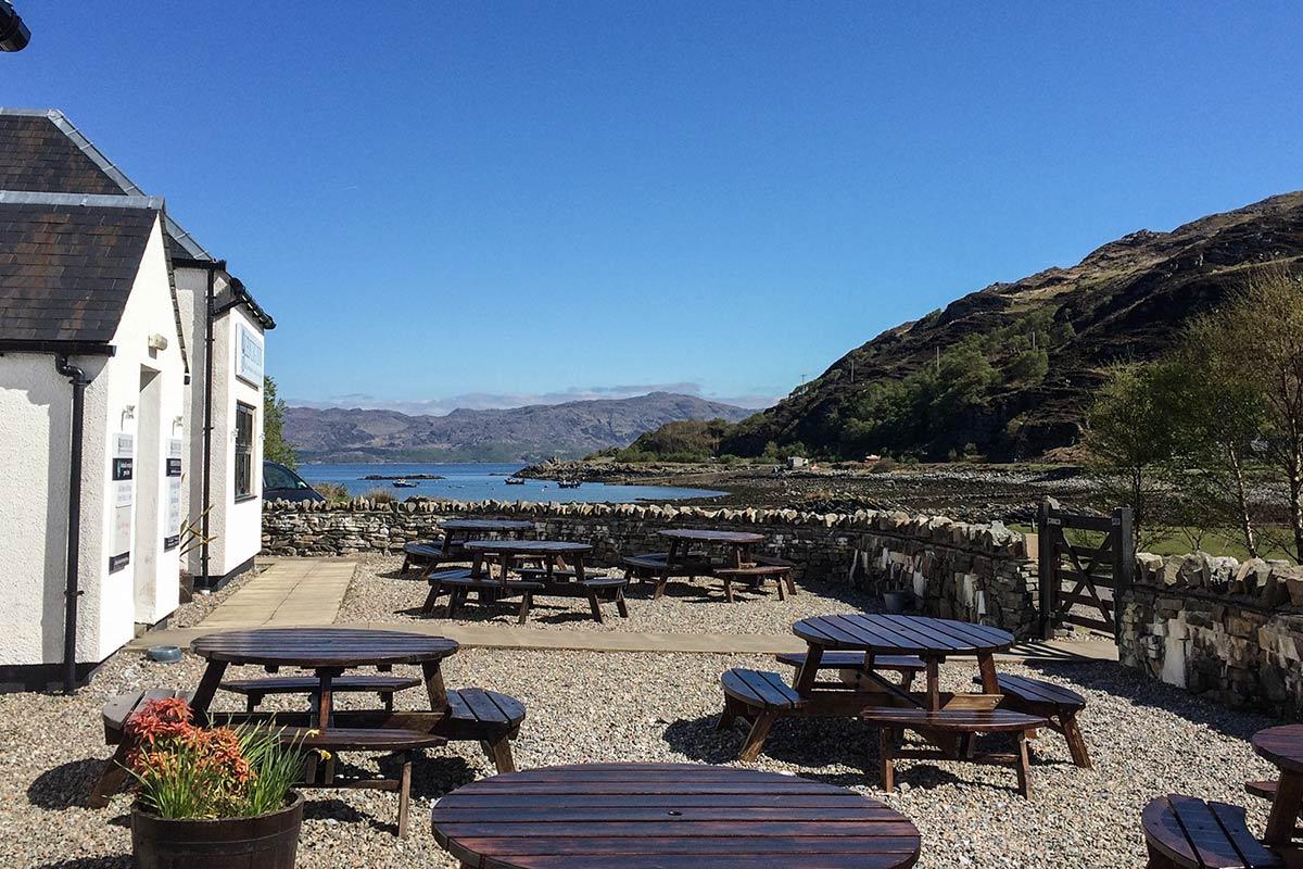 Glenuig Inn - Seaview