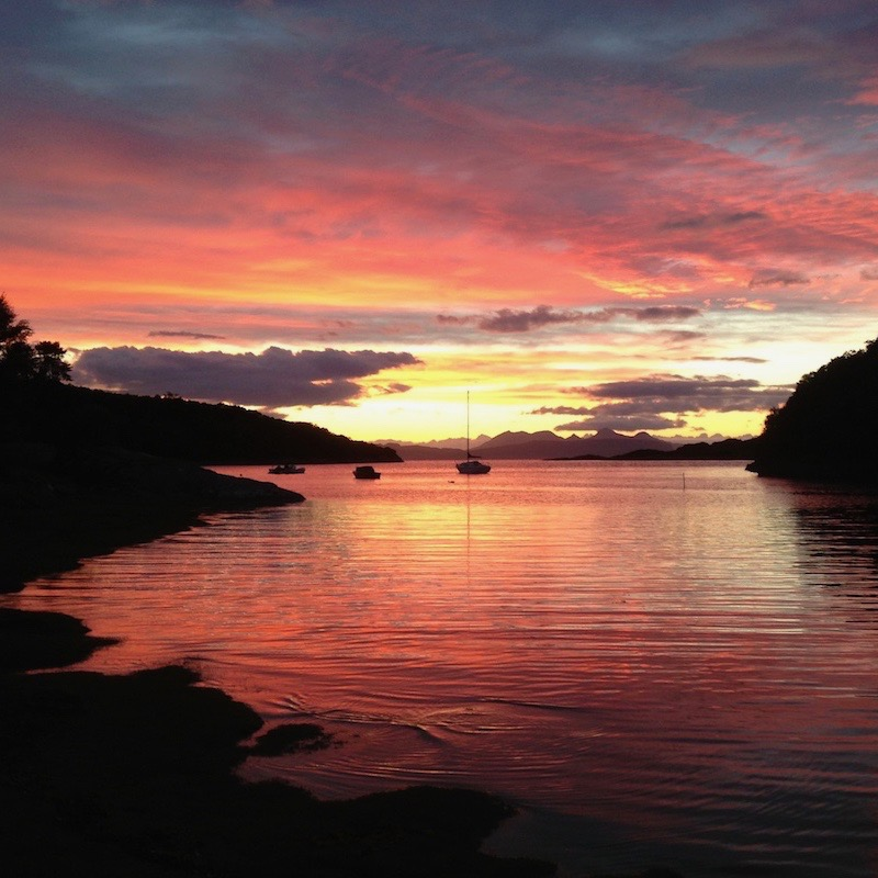 Glenuig Inn Sunsets