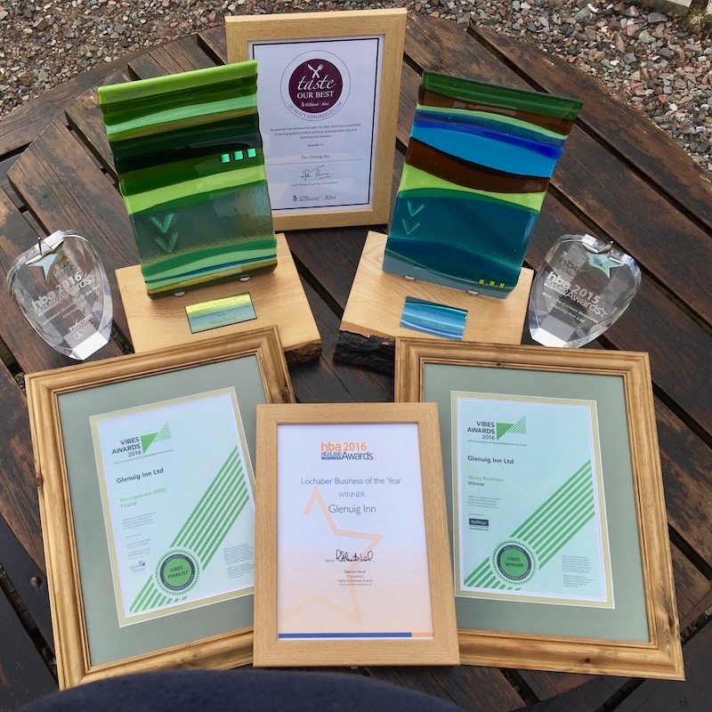 Glenuig Inn Green Awards