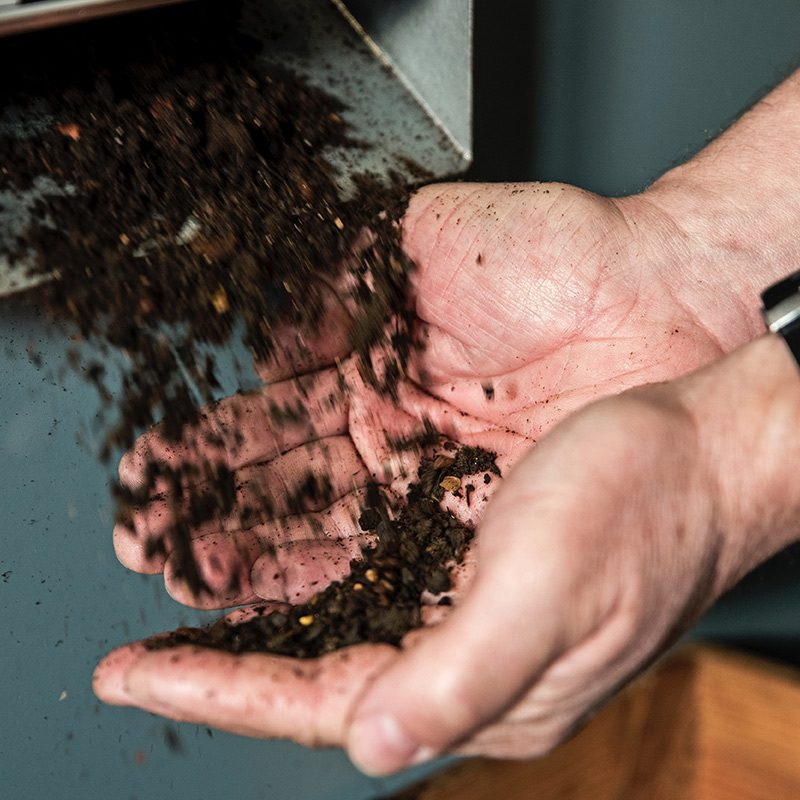 Food waste to bio fuel
